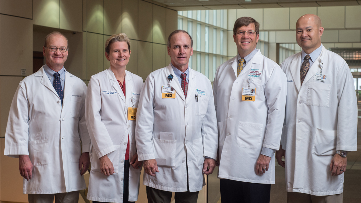 Three Surgeons Join CHI Memorial Medical Group