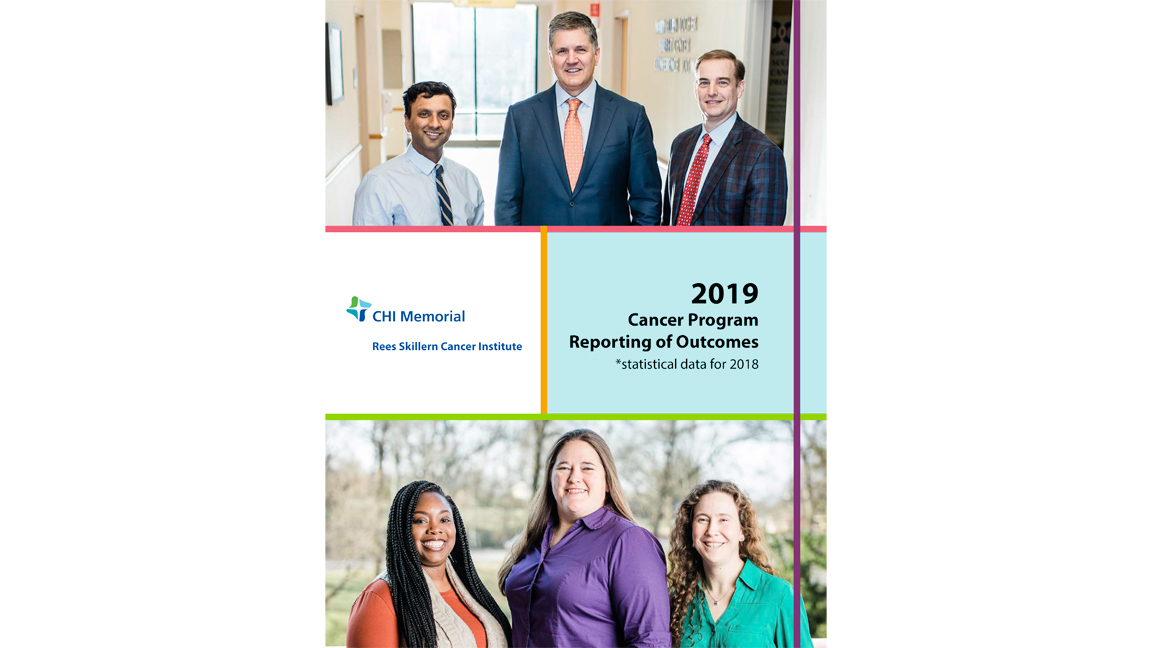 2019 Cancer Annual Report Cover